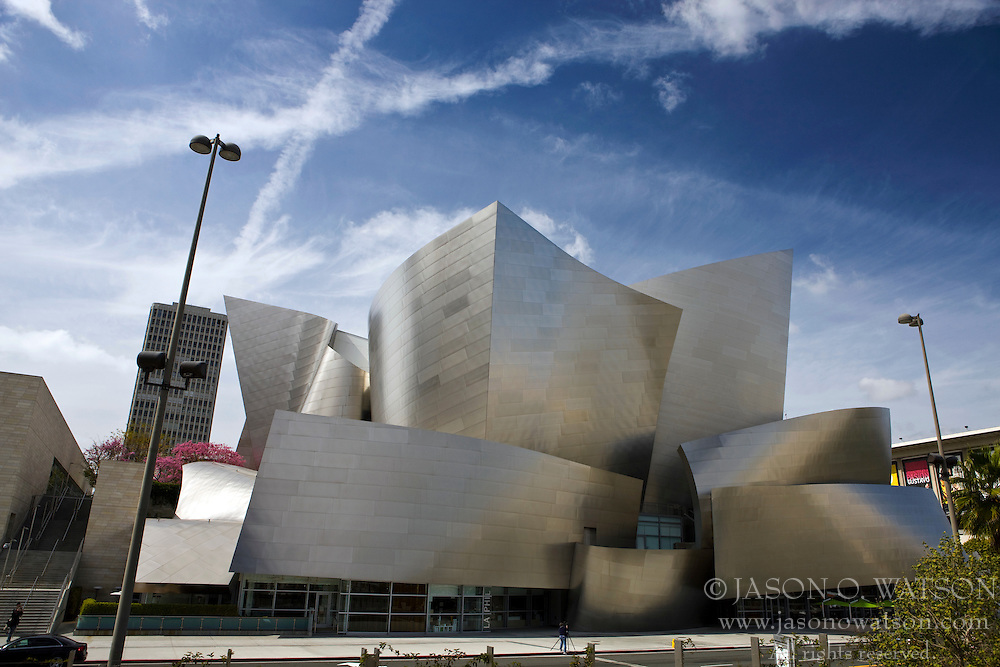 Walt Disney Concert Hall, 111 South Grand Avenue in Downtown Los Angeles, California, United States of America