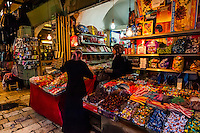 Arab Souk, Old City, Jerusalem, Israel.