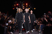 The 'Adidas Originals by Alexander Wang' collection is modeled during Fashion Week in New York, Saturday, Sept. 10, 2016.  (AP Photo/Diane Bondareff)