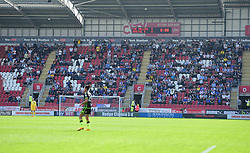 Bristol Rover fans in the away end. - Mandatory by-line: Alex James/JMP - 21/04/2018 - FOOTBALL - Aesseal New York Stadium - Rotherham, England - Rotherham United v Bristol Rovers - Sky Bet League One