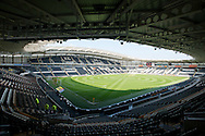 A general view of the stadium before the Sky Bet Championship match at KC Stadium, Hull<br /> Picture by Russell Hart/Focus Images Ltd 07791 688 420<br /> 07/05/2016