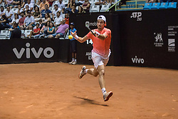 March 2, 2019 - SãO Paulo, Brazil - SÃO PAULO, SP - 02.03.2019: BRASIL OPEN 2019 ATP 250 - Brazil Open ATP 250 - Ibirapuera Gymnasium. Guido PELLA (ARG) defeats Laslo DJERE (SRB) in one of the semifinals and will make the decision tomorrow against Christian GARIN (CHI). São Paulo, March 2, 2019. (Credit Image: © Van Campos/Fotoarena via ZUMA Press)