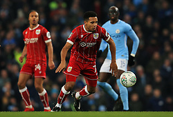 Korey Smith of Bristol City - Mandatory by-line: Matt McNulty/JMP - 09/01/2018 - FOOTBALL - Etihad Stadium - Manchester, England - Manchester City v Bristol City - Carabao Cup Semi-Final First Leg