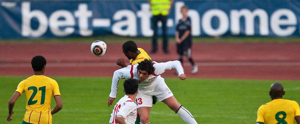 25.05.2010, Dolomitenstadion, Lienz, AUT, FIFA Worldcup Vorbereitung, Kamerun vs Georgien im Bild FEature bet-at-home, EXPA Pictures © 2010, PhotoCredit: EXPA/ J. Feichter / SPORTIDA PHOTO AGENCY