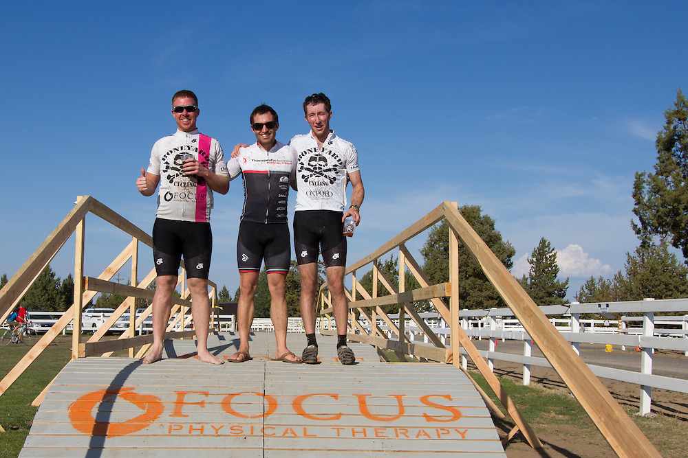Podium for the Cat B Men.  © Brian Nelson