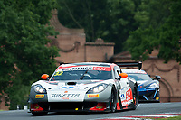 Ian Stinton (GBR) / Mike Simpson (GBR)  #32 Tolman Motorsport  Ginetta G55 GT3  Ginetta 4.3L V8 British GT Championship at Oulton Park, Little Budworth, Cheshire, United Kingdom. May 28 2016. World Copyright Peter Taylor/PSP.