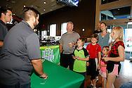 June 30, 2016: OKC Energy FC holds a season seat holder membership event at Main Event in Oklahoma City, Oklahoma.