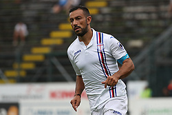July 28, 2018 - Trento, TN, Italy - Fabio Quagliarella during the Pre-Season friendly between Sampdoria and Parma, in Trento on July 28, 2018, Italy  (Credit Image: © Emmanuele Ciancaglini/NurPhoto via ZUMA Press)