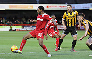 Crawley's Gavin Tomlin on the ball during the Sky Bet League 1 match between Crawley Town and Port Vale at Broadfield Stadium, Crawley, England on 20 December 2014. Photo by Phil Duncan.