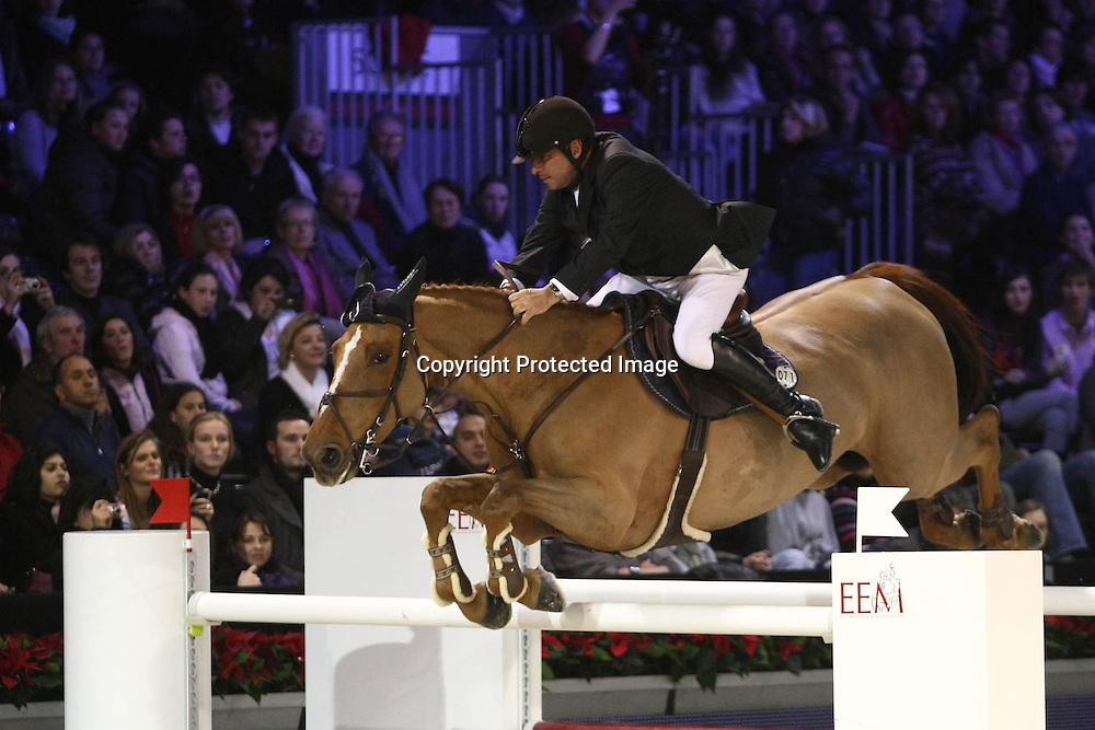 Equitation : Gucci Masters - 03.12.2010 - Prix Le Figaro CSI5 - Philippe Lejeune (BEL/sur Boyante de Muze) *** Local Caption *** 00042820