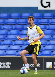 Sam Nicholson of Bristol Rovers warms up - Mandatory by-line: Arron Gent/JMP - 05/09/2020 - FOOTBALL - Portman Road - Ipswich, England - Ipswich Town v Bristol Rovers - Carabao Cup