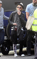©London News Pictures. 15/01/2011 .Picture Credit Should read Neil Hall/London News Pictures.Madonna directs her new period film W.E. starring Abbie Cornish about the abdication of King Edward in London ton 080/08/2010