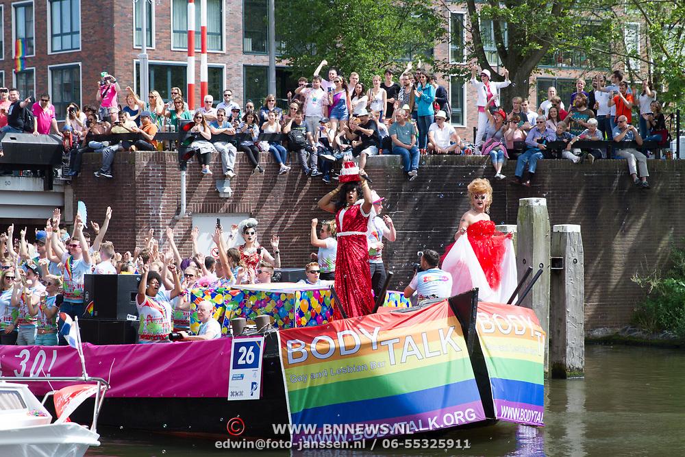 NLD/Amsterdam//20170805 - Gay Pride 2017, Boot Bodytalk Gaybar Utrecht