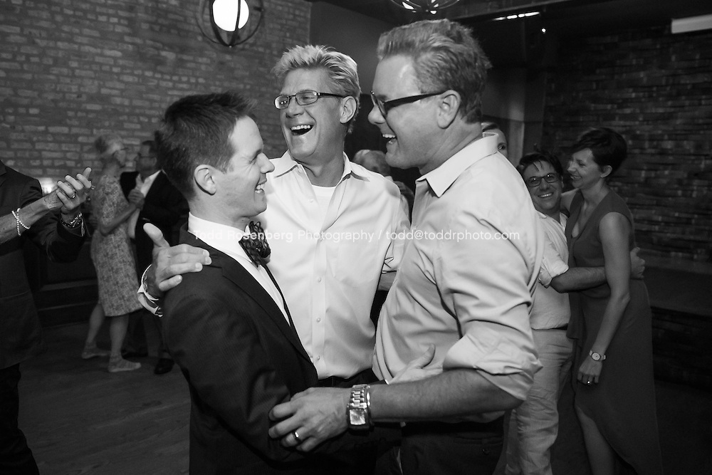 9/3/16 9:52:21 PM --  The wedding of Caroline Slack and Miles Maner at Revolution Brewing Co in Chicago, IL  © Todd Rosenberg Photography 2016