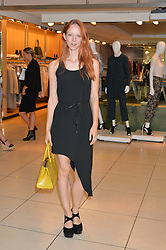 MORWENNA LYTTON COBBOLD at the French Connection #NeverMissATrick Launch Party held at French Connection, 396 Oxford Street, London on 23rd July 2014.