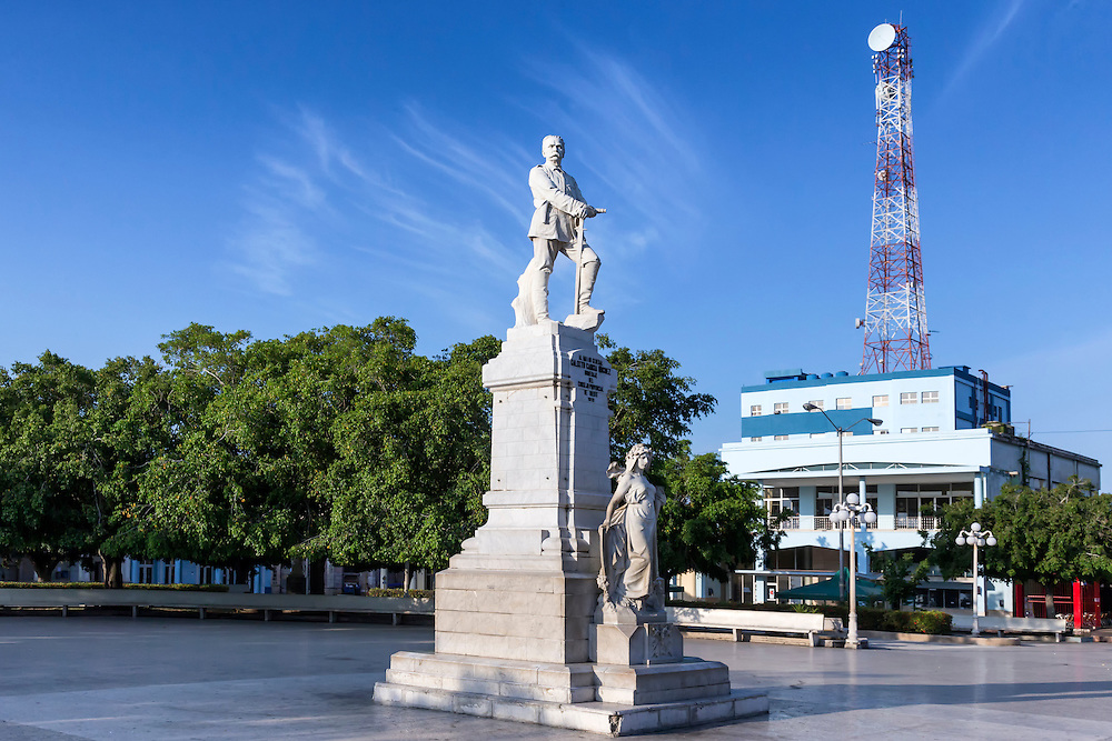 Calixto Garcia Park, Holguin, Cuba.