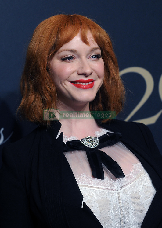 Christina Hendricks attending Brooks Brothers Bicentennial Celebration At Jazz At Lincoln Center, New York City, NY, USA, on April 25, 2018. Photo by Dennis Van Tine/ABACAPRESS.COM