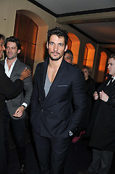 DAVID GANDY at a party to celebrate the launch of the new Vertu Constellation phone - the luxury phonemakers first touchscreen handset, held at the Farmiloe Building, St.John Street, Clarkenwell, London on 24th November 2011.