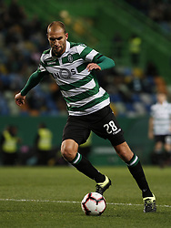 January 19, 2019 - Lisbon, Portugal - Bas Dost of Sporting  in action  during Primeira Liga 2018/19 match between Sporting CP vs Moreirense FC, in Lisbon, on January 19, 2019. (Credit Image: © Carlos Palma/NurPhoto via ZUMA Press)