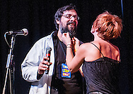 The BIG SHOW Lottery League 2013.Sudden Onset, Jessica Horvat with Michael Pultz..ALL RIGHTS RESERVED. © KEN BLAZE..