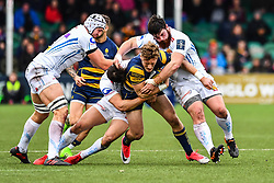 Tom Howe of Worcester Warriors in action - Mandatory by-line: Craig Thomas/JMP - 27/01/2018 - RUGBY - Sixways Stadium - Worcester, England - Worcester Warriors v Exeter Chiefs - Anglo Welsh Cup