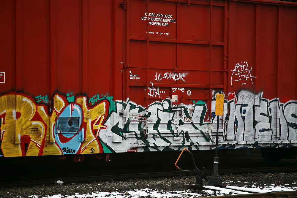 Graffiti Art of the Pacific northwest