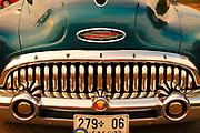 Buick, vintage car detail,