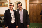 MATT HISCOCK; JEFF RAIDER, Ann Coffey MP hosts a reception and panel debate  on behalf of Harry's Grooming to launch the Masculinity Report. Houses of Parliament. 16 November 2017.