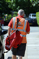 © Licensed to London News Pictures. 15/10/2013<br /> Royal Mail Delivery office Sidcup,Greater London 10/07/2013.<br /> Royal Mail share price rise.<br /> Royal Mail shares soar to £4.50: Price is now 50% higher than at sell-off renewing claims it was undervalued.<br /> Photo credit :Grant Falvey/LNP