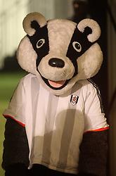 Fulham's badger mascot - Photo mandatory by-line: Robbie Stephenson/JMP - Mobile: 07966 386802 - 06/03/2015 - SPORT - Football - Fulham - Craven Cottage - Fulham v AFC Bournemouth - Sky Bet Championship