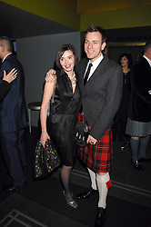 EWAN MCGREGOR and his wife EVE at 'Not Another Burns Night' in association with CLIC Sargebt and Children's Hospice Association Scotland held at ST.Martins Lane Hotel, London on 3rd March 2008.<br />
