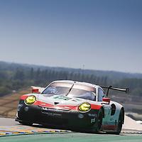 #91, Porsche Motorsport, Porsche 911 RSR (2017), driven by: Richard Lietz, Frederic Makowiecki, Patrick Pilet, 24 Heures Du Mans 85th Edition, 17/06/2017,