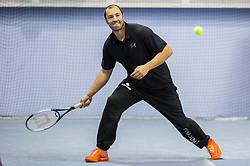 Marko Milic at Istenic doubles Tournament and Slovenian Tennis personality of the year 2015 annual awards presented by Slovene Tennis Association TZS, on December 12, 2015 in Millenium Centre, BTC, Ljubljana, Slovenia. Photo by Vid Ponikvar / Sportida
