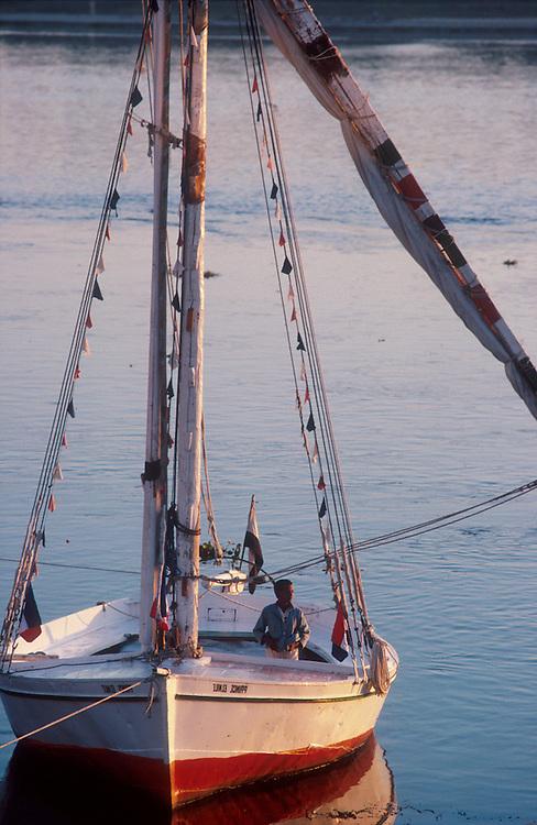 Egypt Locations felucca-boat
