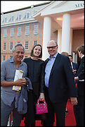 ANISH KAPOOR; SOPHIE WALKER; NICHOLAS LOGSDAIL; , Masterpiece London 2014 Preview. The Royal Hospital, Chelsea. London. 25 June 2014.