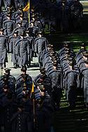 Army Cadets participate in the March On before the Army-Navy Football game on Dec. 10, 2011.  (Alan Lessig/Staff)