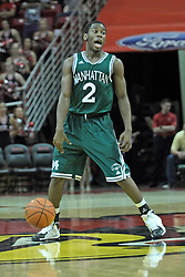 20 November 2013:  Tyler Wilson during an NCAA Non-Conference mens basketball game between theJaspers of Manhattan and the Illinois State Redbirds in Redbird Arena, Normal IL