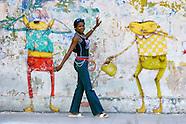 Paseo del Prado, Havana, Cuba.