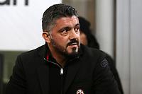 Milan-Lazio - Tim Cup 2017/18 - Semifinale di andata - Nella foto: Gennaro Gattuso allenatore del Milan