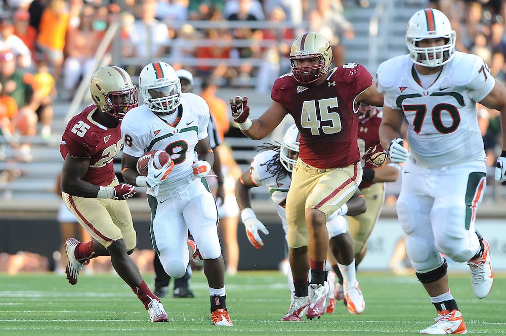 2012 Miami Hurricanes Football @ Boston College