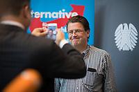DEU, Deutschland, Germany, Berlin, 26.09.2017: Stephan Brandner (MdB, AfD) vor der ersten Fraktionssitzung der AfD-Bundestagsfraktion im Deutschen Bundestag.