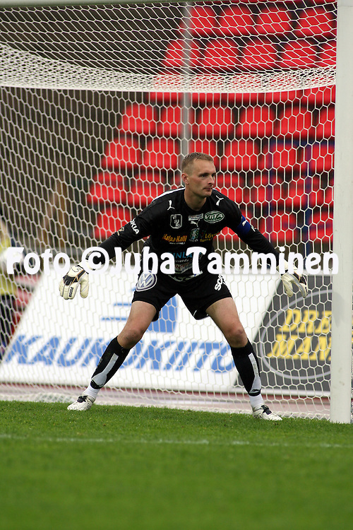 28.05.2007, Ratina, Tampere, Finland..Veikkausliiga 2007 - Finnish League 2007.Tampere United - FC Lahti.Mikko Kav?n - TamU.©Juha Tamminen.....ARK:k