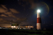 Portland Bill lighthouse, Dorset, England, UK