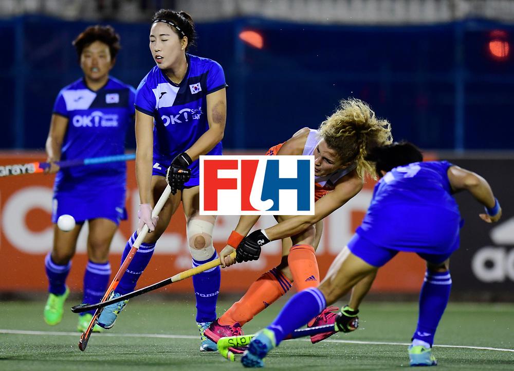 AUCKLAND - Sentinel Hockey World League final women<br /> Match id:<br /> 18 NED v KOR (Semi Final)<br /> Foto: Maria Verschoor <br /> WORLDSPORTPICS COPYRIGHT FRANK UIJLENBROEK