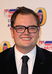ALAN CARR attends the British Comedy Awards at Fountain Studios, London, England, December 12, 2012. Photo by i-Images.