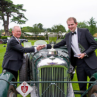 John Abel and Martyn Taylor in their Lagonda LG45 on the Royal Automobile Club 1000 Mile Trial 2015
