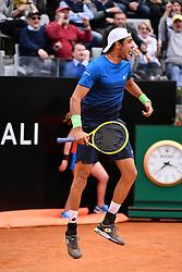 May 14, 2019 - Roma, Italia - Foto Alfredo Falcone - LaPresse.14/05/2019 Roma ( Italia).Sport Tennis.Internazionali BNL d'Italia 2019.Alexander Zverev (ger) vs Matteo Berettini (ita).Nella foto:Matteo Berettini..Photo Alfredo Falcone - LaPresse.14/05/2019 Roma (Italy).Sport Tennis.Internazionali BNL d'Italia 2019.Alexander Zverev (ger) vs Matteo Berettini (ita).In the pic:Matteo Berettini (Credit Image: © Alfredo Falcone/Lapresse via ZUMA Press)