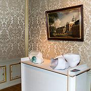 NLD/Den Haag/20190919 - Prinses Margarita exposeert op Masterly The Hague, Kunstwerk Wolken van kunstenares  Bibi Smit