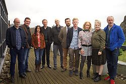 2016 Edinburgh International Film Festival, (left to right) Paul Savage (The Delgados), David Sosson, Emma Pollock (The Delgados), Alex Kapranos (Franz Ferdinand), Mark Percival (musician/writer), Stewart Henderson (Chemical Underground/ The Delgados), Niall McCann (writer/Director), Stephanie Gibson, Nicky Grogan (producer), Paul Walsh (producer), during the WORLD PREMIERE (DOCUMENTARY) LOST IN FRANCE, The Apex Hotel Grassmarket, Edinburgh16th June 2016, (c) Brian Anderson | Edinburgh Elite media