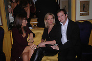 Claudia Winkleman, Elizabeth Murdoch and Matthew Freud, Emily Oppenheim. Artists Independent Networks  Pre-BAFTA Party at Annabel's co hosted by Charles Finch and Chanel. Berkeley Sq. London. 11 February 2005. . ONE TIME USE ONLY - DO NOT ARCHIVE  © Copyright Photograph by Dafydd Jones 66 Stockwell Park Rd. London SW9 0DA Tel 020 7733 0108 www.dafjones.com
